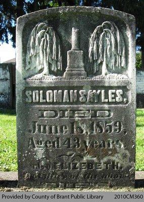 Sayles Family Headstone