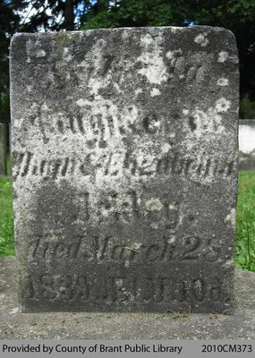 Oakland Pioneer Cemetery Headstone 1-69