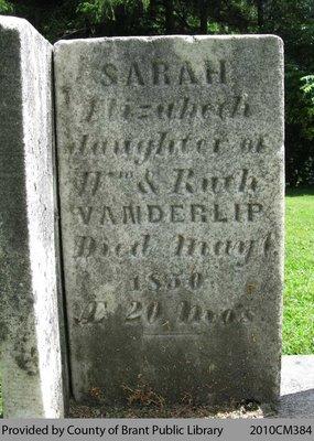 Sarah Elizabeth Vanderlip