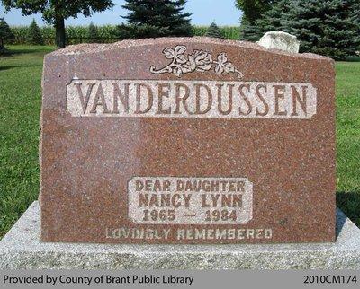 Nancy Lynn Vanderdussen