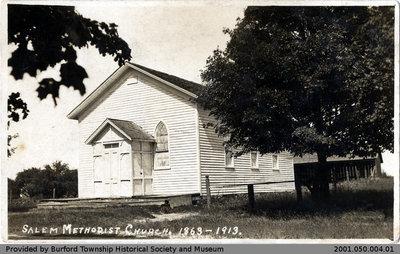Postcard from Salem Methodist Church