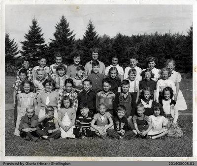 Muir School Class of 1953-54