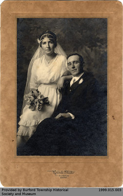 Mabel Loretta Lowes and Harold John Stevens