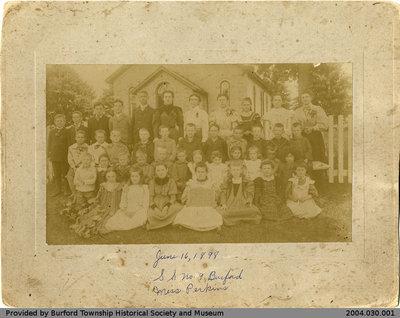 Salem School 1898 Class Photo