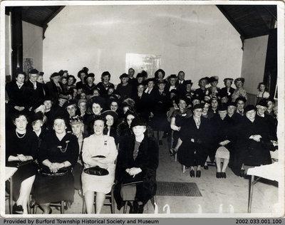 1949 Burford Women's Institute Photo