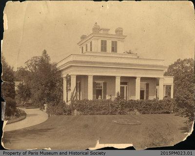 Photograph of Hamilton Place c.1892