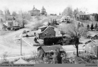 Photograph of Glen Morris from the Howlett House's Rooftop