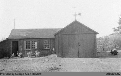 Photograph of the Howlett's Garage and Workshop in Glen Morris
