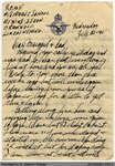 "Letter, John ""Jack"" Chapple Tate to Margaret Tate, 20 July 1941"