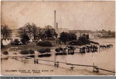 Paris Military Camp 1909