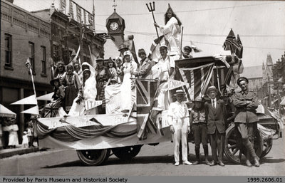 Sons of England Lodge Float