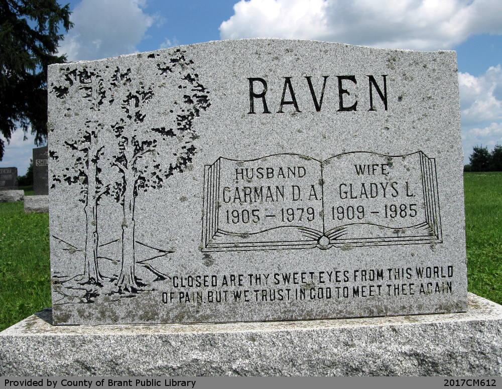 Carman D.A. and Gladys L. Raven