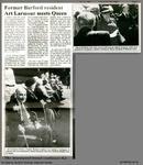 Former Burford resident Art Lamour meets Queen