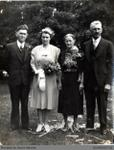 Photograph of Will and Bessie Kemkes with Parents
