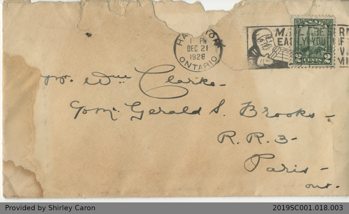 Letter to William Clarke from Ben Johnson