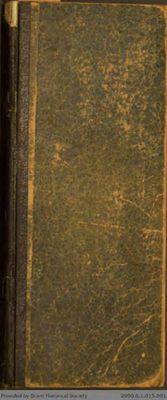 Chamberlain Ledger Book, 1891-1892