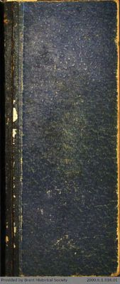 Chamberlain Ledger Book, 1895-1897