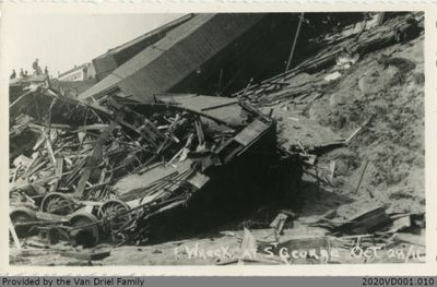 Wreck at St. George