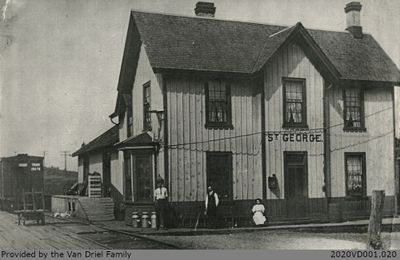 St. George Train Station