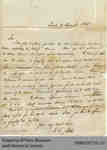Letter from W.G. Keele to Hiram Capron