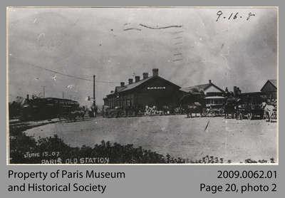 Paris Junction Station, 1907
