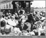 King George VI and Queen Elizabeth Greeting Parisians, June 7, 1939