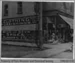 Fred Blackhurst's Store at Corner of Mechanic & Grand River, c. 1914