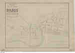 Plan of the Town of Paris, 1847