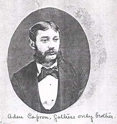 Aden Capron, son of Horace Capron
