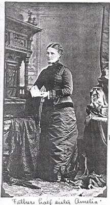 Photograph of Amelia Capron Baird, daughter of Horace Capron