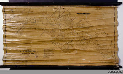 1876 Plan of the Town of Paris