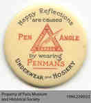 "Penmans ""Pen Angle"" Mirror and Medallion"