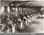 Penmans #1 Mill Burson Knitting Department, Ladies Hosiery, c. 1935