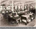 Penmans #1 Mill Hosiery Knitting Room, c. 1935