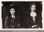 Maude Campbell & Mrs. Geo. Houlding, Mount Pleasant Women's Institute Members, c. 1900