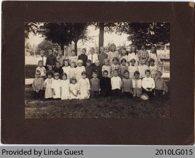 Mount Pleasant Public School Class, 1921?