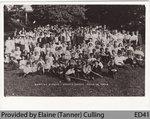 Baptist Picnic, Burt's Grove, June 19 1909