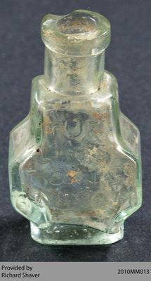 1812-era Medicinal Flask