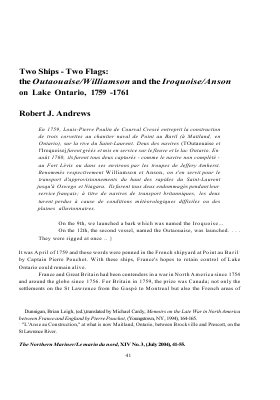 Two Ships - Two Flags: