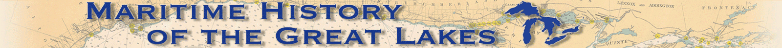 Maritime History of the Great Lakes