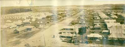 Panorama Photograh of Camp Borden, 1916