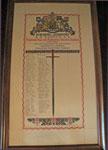 Gypsum Company WW1 Scroll