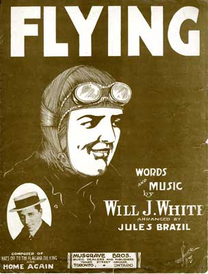 """Sheet music for the song """"Flying"""""""
