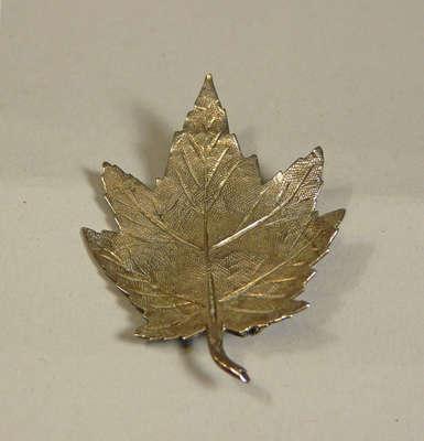 Loyal Canadian Society Silver Pin