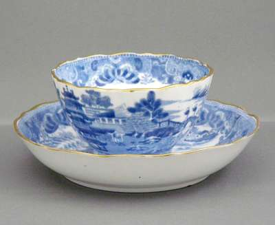 Tea cup and Saucer- Nelles Manor