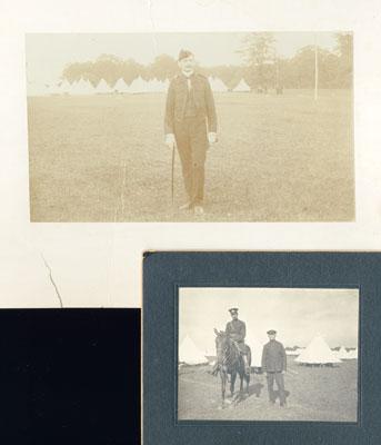 E. Sutherland Baxter at Niagara Camp