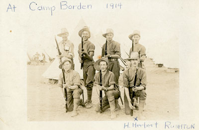Herbert Rushton & Friends, Camp Borden