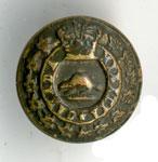 Canadian Militia uniform button