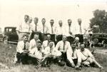 Photo of 1936 reunion of the 114th Machine Gunners