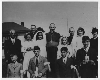 Our Lady of the Lourdes Confirmation Class (c.1947)
